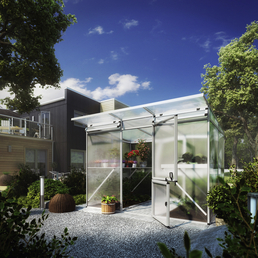 KGT Gewächshaus »Linea«, 6,54 m², Kunststoff/Aluminium, winterfest
