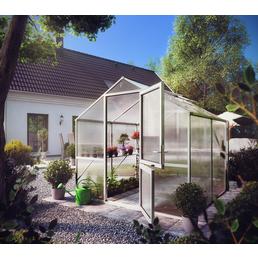 KGT Gewächshaus »Rose«, 5,06 m², Kunststoff/Aluminium, winterfest