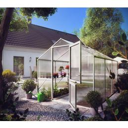 KGT Gewächshaus »Rose«, B x L x H: 233  x 323  x 215  cm, Aluminium/Polycarbonat (PC)