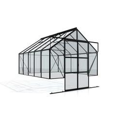VITAVIA Gewächshaus Set »Cassandra«, 8,3 m² Grundfl., Wandverglasung  Einscheiben-Sicherheitsglas