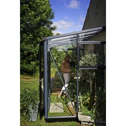 JULIANA Gewächshaus »Veranda«, B x L x H: 296  x 149  x 231  cm, Aluminium