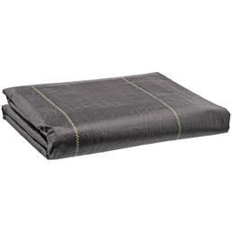 MR. GARDENER Gewebematte, Kunststoff, schwarz, BxL: 2 x 10 m