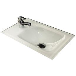 FACKELMANN Glas-Waschbecken »Gäste-WC«, Breite: 45 cm