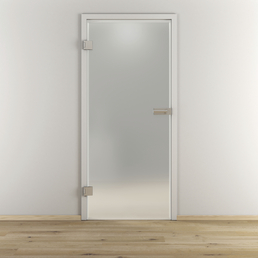NOVADOORS Glasdrehtür »NOVA 501«, Anschlag: links, Höhe: 197,2 cm