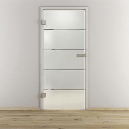 NOVADOORS Glasdrehtür »NOVA 503«, mattiert, Höhe: 197,2  cm