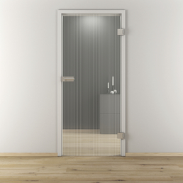 NOVADOORS Glasdrehtür »NOVA 515«, mattiert, Höhe: 197,2  cm