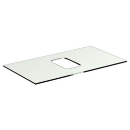 IDEAL STANDARD Glaskonsole, BxHxT: 80,6 x 10mm x 44,4 cm