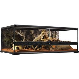 EXO TERRA Glasterrarium, 90 x 45 x 30 cm, inklusive Rückwand