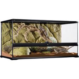EXO TERRA Glasterrarium, 90 x 45 x 45 cm, inklusive Rückwand