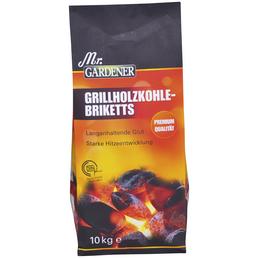 MR. GARDENER Grill-Briketts, aus Holzkohle, 10 kg