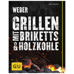 WEBER Grillbuch »Weber's Grillen mit Briketts & Holzkohle«, Taschenbuch, 240 Seiten