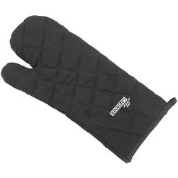 MR. GARDENER Grillhandschuh, Polyester/Baumwolle, schwarz, bis 120°C