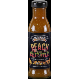 Don Marco´s Barbecue Grillsauce, Peach/Rum/Chipotle, 275 g