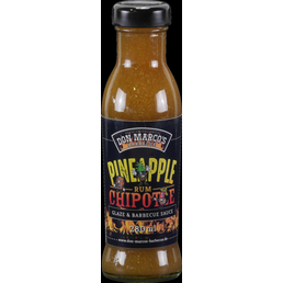 Don Marco´s Barbecue Grillsauce, Pineapple/Chipotle/Rum, 275 g