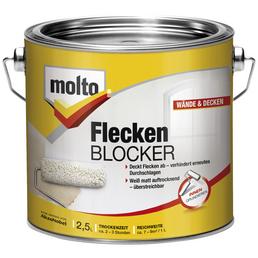MOLTO Grundierung »Fleckenblocker«, weiß, 2,5 l, 17,5-22,5 m²
