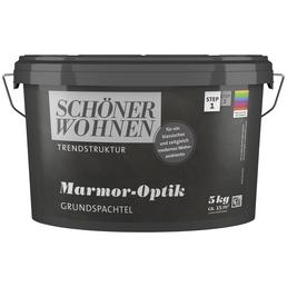 SCHÖNER WOHNEN FARBE Grundspachtel »Trendstruktur«, weiß, 3 m²/kg