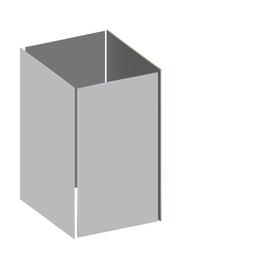 TraumGarten Grundverkleidung »BINTO«, Holz-Kunststoff-Verbundwerkstoff, LxH: 66 x 118 cm