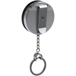 BASI Gürtel-Clip, BxHxL: 4 x 5 x 60 cm, schwarz/silberfarben