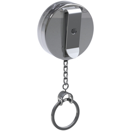 BASI Gürtel-Clip, BxHxL: 4 x 5 x 60 cm, silberfarben