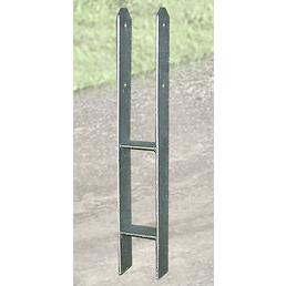 WEKA H-Pfostenanker-Set, für Pfosten mit 12x12 cm