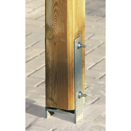 WEKA H-Pfostenanker-Set, für Pfosten mit 12x12 cm, 10 Stück