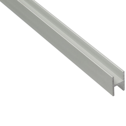 900 x 30 mm Aluminium edelstahlfarbig eloxiert GAH-Alberts 490034 /Übergangsprofil gebohrt