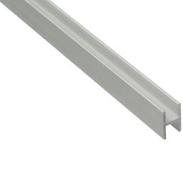 GAH ALBERTS H-Profil, LxBxH: 2000 x 30 x 22 x 1,5 mm, silberfarben