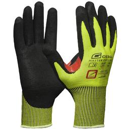 GEBOL Handschuh »Master Cut 5 Plus«, gelb/schwarz