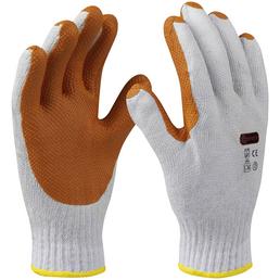CONNEX Handschuh »Pflasterer«, rot, Latexbeschichtet