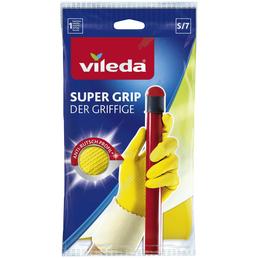 VILEDA Handschuhe »Der Griffige«, gelb, Baumwoll-Innenbeschichtung