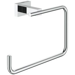 GROHE Handtuchring »Essentials Cube«, chromfarben