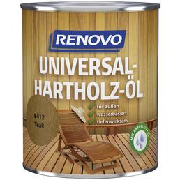 RENOVO Hartholz-Öl, teak, 0,75 l
