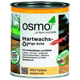 OSMO Hartwachsöl High Solid farblos seidenmatt 0,75 l