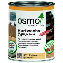 OSMO Hartwachsöl High Solid transparent 0,75 l