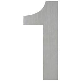 ANSAPRO Hausnummer Nr. 1, silberfarben