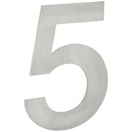 ANSAPRO Hausnummer Nr. 5, silberfarben