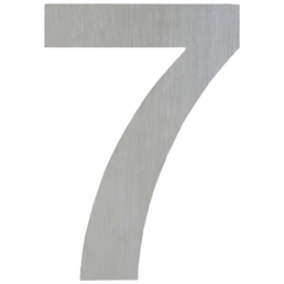 ANSAPRO Hausnummer Nr. 7, silberfarben