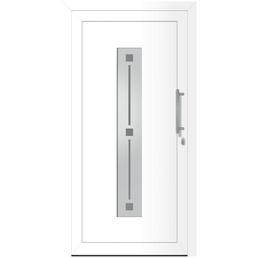 RORO Haustür »Melle«, Aluminium, weiß