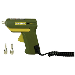PROXXON Heißklebepistole, 40 W, gelb/grün
