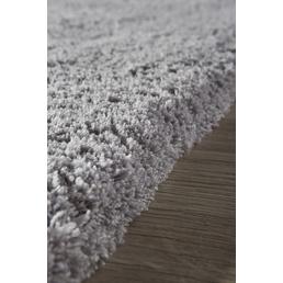 LUXORLIVING Hochflor-Teppich »San Remo«, BxL: 70 x 140 cm, silberfarben