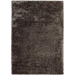 b.b home passion Hochflor-Teppich »Shaggy«, BxL: 140 x 200 cm, taupe