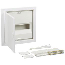 GEWISS Hohlwandverteiler, Weiß, 1-reihig, 34 x 33,5 x 10,5 cm