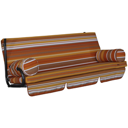 ANGERER FREIZEITMÖBEL Hollywoodschaukelauflage »Trend«, Streifen, mehrfarbig, 54 cm x 180 cm