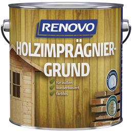 RENOVO Holz-Imprägniergrund, für außen, 4 l, farblos