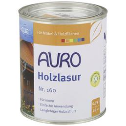 AURO Holzlasur »Aqua«, für innen & außen, 0,75 l, farblos, seidenglänzend