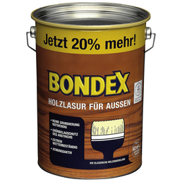 BONDEX Holzlasur, Farbton Kiefer, für außen, 4,8 l