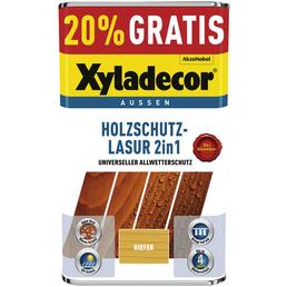 XYLADECOR Holzschutz-Lasur, für außen, 5 l, Kiefer, matt