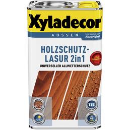 XYLADECOR Holzschutz-Lasur für außen, 5 l, Nussbaum, matt