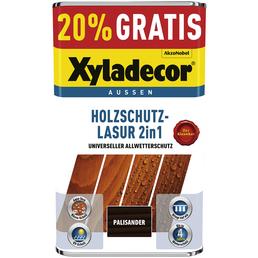 XYLADECOR Holzschutz-Lasur, für außen, 5 l, Palisander, matt