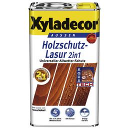 XYLADECOR Holzschutz-Lasur, Nussbaum, außen